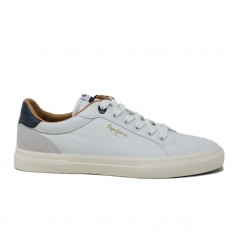 PEPE JEANS LONDON SNEAKER KENTON LEATHER WHITE