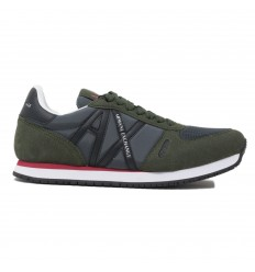 ARMANI EXCHANGE SNEAKER DARM GREEN/ BLACK