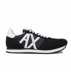 ARMANI EXCHANGE SNEAKER BLACK/ WHITE