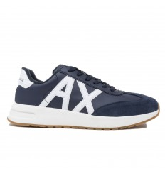 ARMANI EXCHANGE SNEAKER NAVY/ OFF WHITE