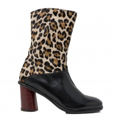 JP DAVID TRONCHETTO BLACK-ANIMALIER