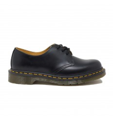 DR.MARTENS 1461 BLACK SMOOTH STRINGATA UOMO