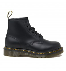 DR.MARTENS 101 BLACK SMOOTH YS ANFIBIO UNISEX