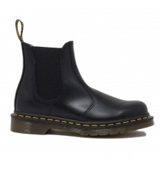 DR.MARTENS 2976 BLACK SMOOTH CHELSEA BEATLES