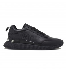John Richmond Sneaker Leather Black