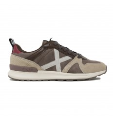MUNICH ALPHA SNEAKERS UOMO BEIGE/MARRONE