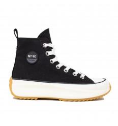 Steve Madden Shark Sneaker Alta Black