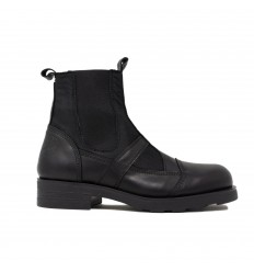 OXS FRANK 09 beatles nylon leather black
