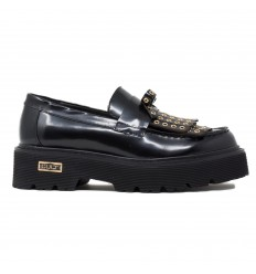 CULT 3194 mocassino brushed leather black