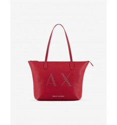 ARMANI EXCHANGE shopper classic medium rosso