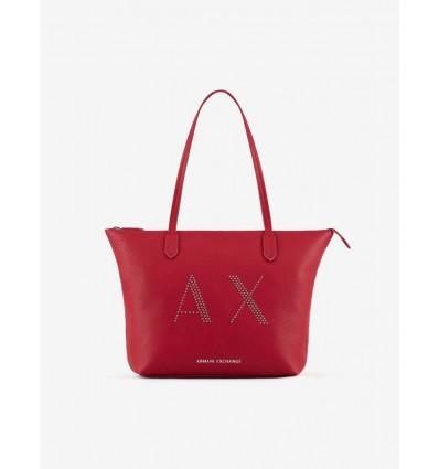 ARMANI EXCHANGE shopper classic medium rosso