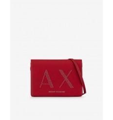 Armani Exchange borsa a tracolla classic rosso