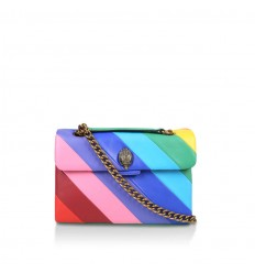 Kurt Geiger leather kensington bag multicolor opaco