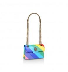 Kurt Geiger leather mini kensington bag multicolor opaco
