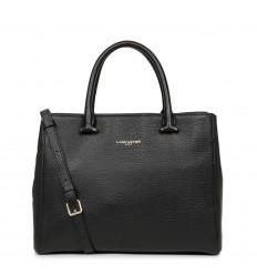 Lancaster dune zip handle bag black