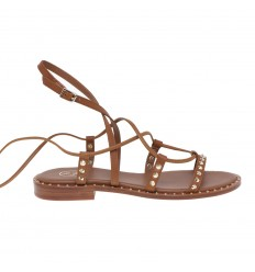 ASH sandal princess cuoio