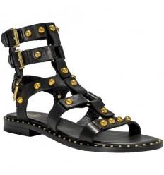 ASH sandal petrus black gold