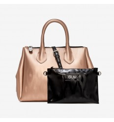 GUM DESIGN BORSA MEDIUM GOLD GUMMY