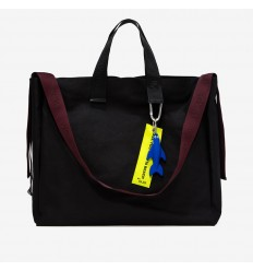 GUM DESIGN BORSA BIG CANVAS NERO