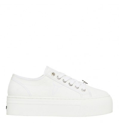 WINDSOR SMITH RUBY SNEAKER CANVAS BIANCO