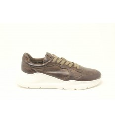 BARRACUDA  SNEAKER PELLE MARRONE
