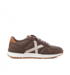 MUNICH SNEAKER ALPHA MARRONE