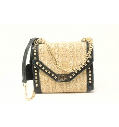 STEVE MADDEN BBRIXTON NATURAL CROSSBODY