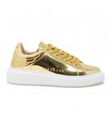 John Richmond Sneaker Specchio Pelle Oro