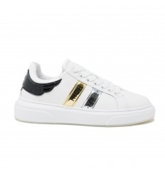 JOHN RICHMOND SNEAKERS PELLE BIANCO