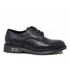 CULT LOW 412 SCARPA BASSA LEATHER BLACK