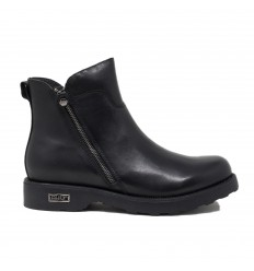 CULT MID 2650 ANFIBIO ZIP LEATHER BLACK