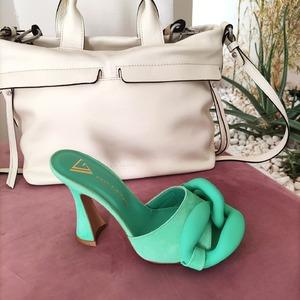 Sabot Chain Tiffany @giampaoloviozzishoes 💚